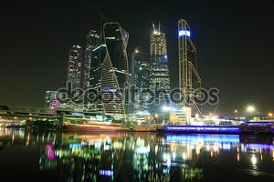 Городской пейзаж города Москва