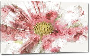Абстрактный рисунок цветка