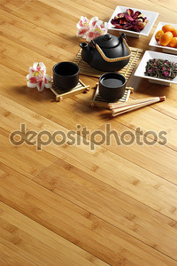 Чайная церемония на покрытия
