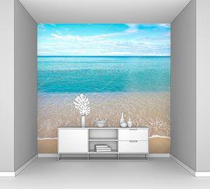Красивый песчаный пляж