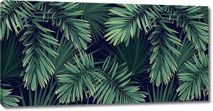 Острые пальмовые листья