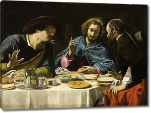 Филиппо Тарчиани. Ужин в Эммаусе