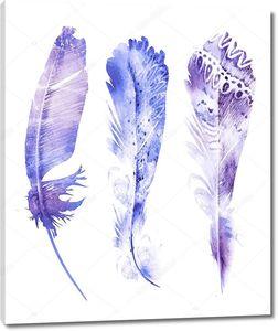 Акварельные перья