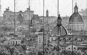 Вид на Рим от замка Сант-Анджело