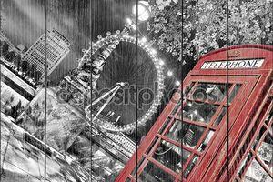 Кабина телефона в Лондоне