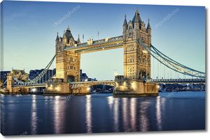 Тауэрский мост на Темзе