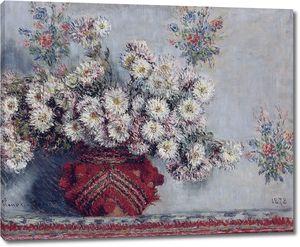 Клод Моне. Хризантемы 1878