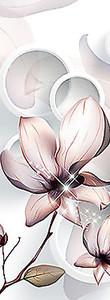 Полупрозрачный нежный цветок