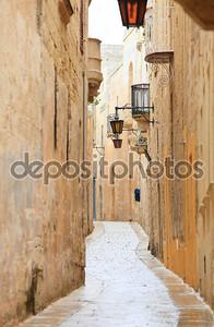 Узкая улица Мдины