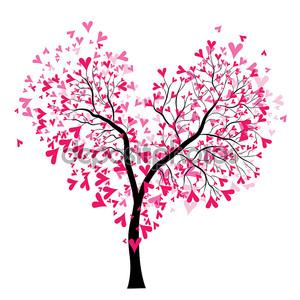 дерево Дня святого Валентина