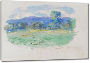 Моне Клод. Сена в Порт-Виле, 1909