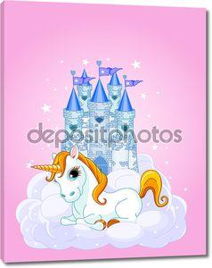 Замок и Единорог