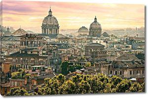 Центр Рима с высоты