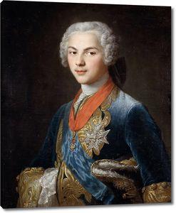 Друэ Юбер.  Дофин Людовик, сын Людовика XV
