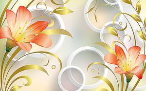 Лилии с кругами