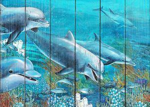 Подводный Иллюстрация