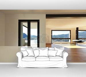современная квартира, большая гостиная