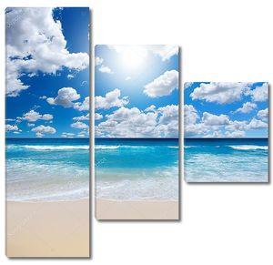 Великолепный пляж пейзаж