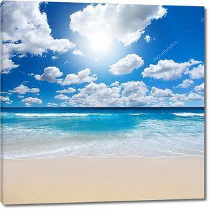 Великолепный пляжный пейзаж