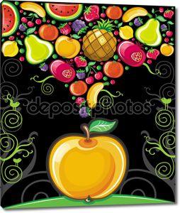 яблочный всплеск