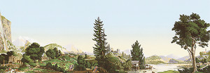 Живописный парк