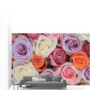 Пастельные розовые Свадебные цветы