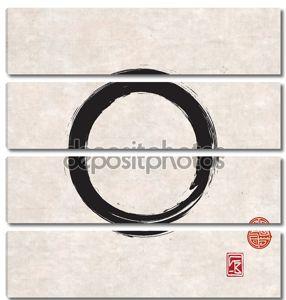 черный круг дзэн