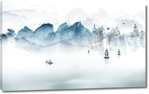 Маяки на озере