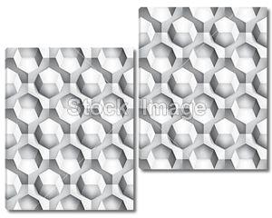 Объем текстуру и реалистичные, восьмигранник, серый 3d геометрический рисунок, дизайн Векторный фон