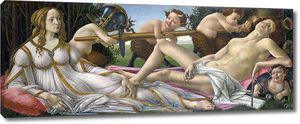 Боттичелли Сандро. Венера и Марс