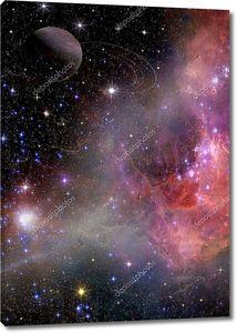 Галактический пейзаж