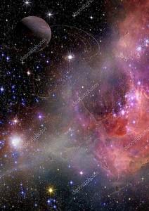 Галактика в свободном пространстве