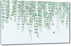 Зеленые лианы
