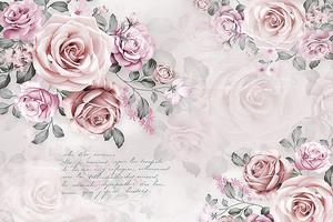 Розы с текстом