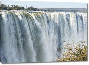Водопад Виктория. Замбия, Зимбабве
