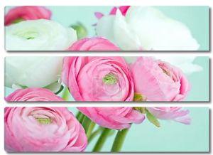 Букет розовых и белых Лютик