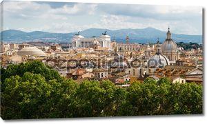 Вид Рима город