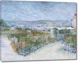 Ван Гог. Монмартр: за Мулен де ла Галетт