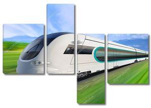 супер оптимизированный поезд