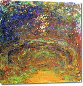 Моне Клод. Aрка из роз, Живерни, 1920-22 01