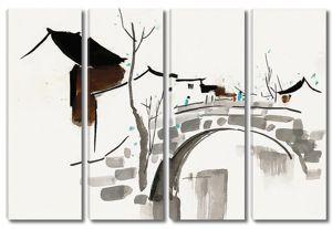 Мост через речку