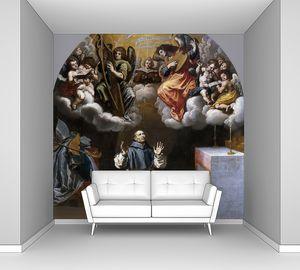 Кардучо Висенте. Видение святому Югу музицирующих ангелов