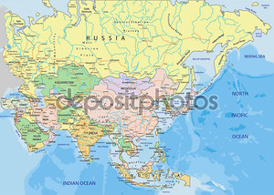 азиатский расклад политических сил