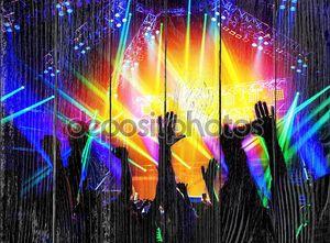 рок-концерт