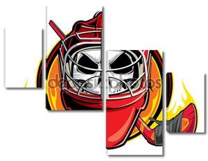 хоккейный вратарь