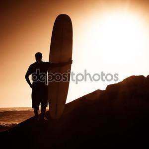 Длинные границы, наблюдая волны