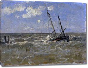 Аэс Карлос де. Море в Нормандии