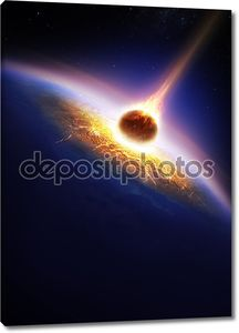 Земля и столкновения астероидов