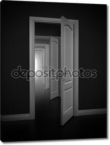 Абстрактные двери