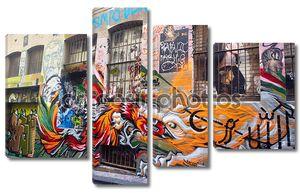 Граффити на улицах Мельбурна